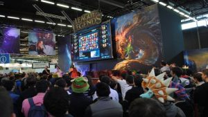 Japan Expo 2015 Stand League Of Legends