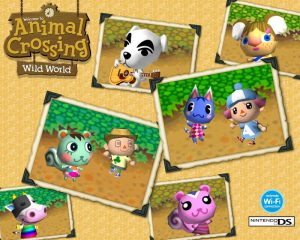 Animal Crossing Wild World Artwork