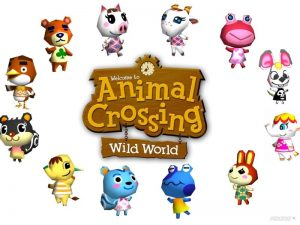 Animal Crossing Wild World Personnages