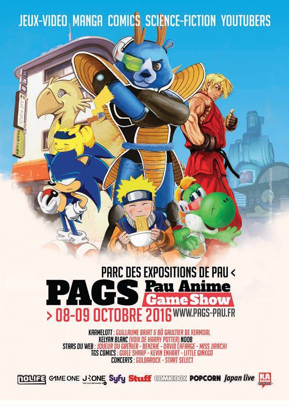 Affiche Pags 2016