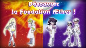 Pokémon Soleil.Lune Trailer 13 Fondation Aether