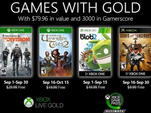 Games With Gold : Septembre 2020